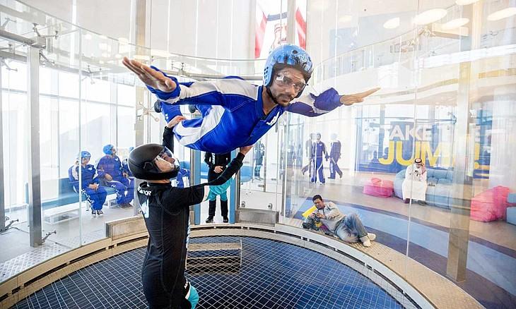 Indoor Skydiving - Gravity Bahrain
