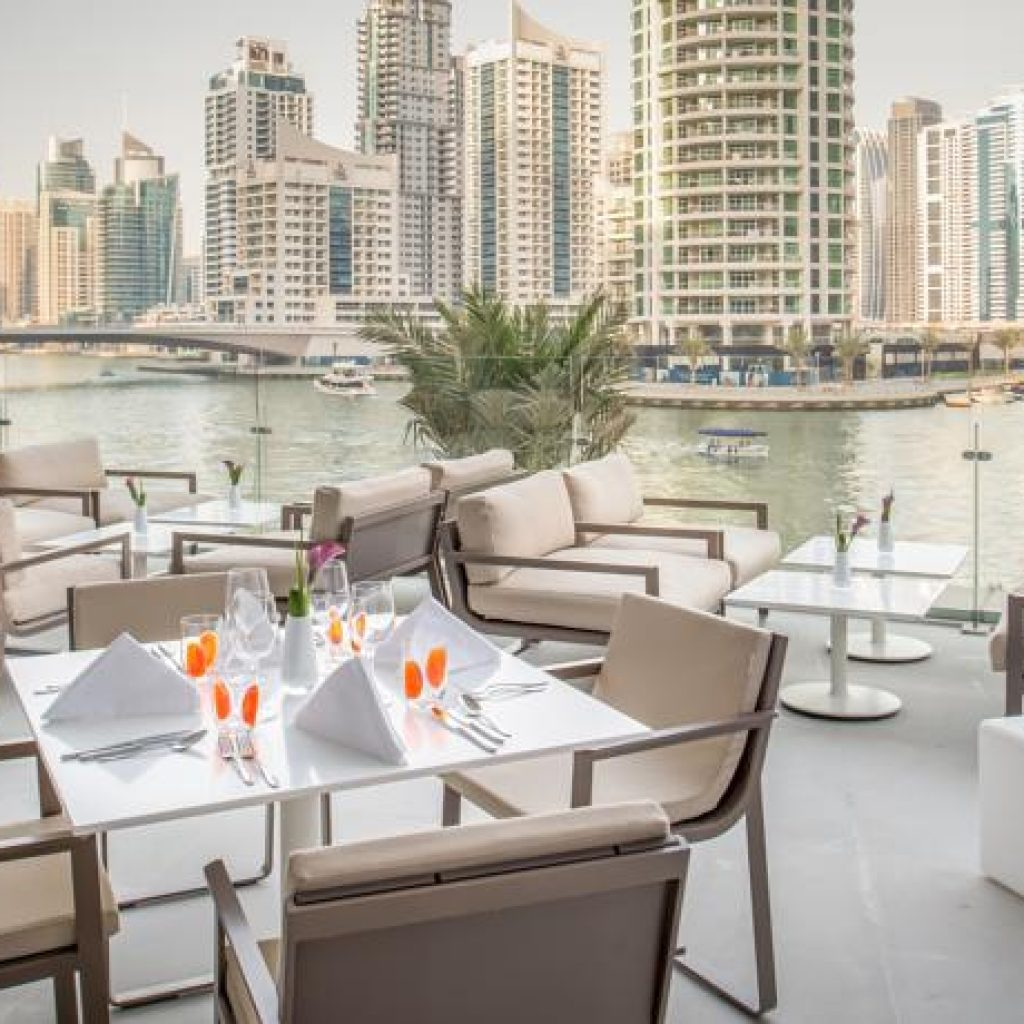 InterContinental Dubai Marina - Terrace View