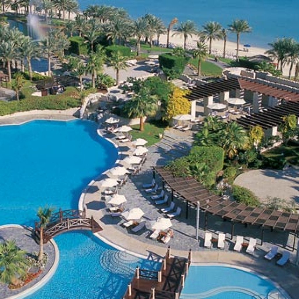 Ritz Carlton Bahrain - Pool & Beach View