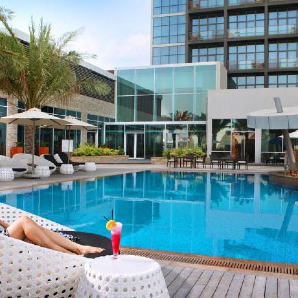 Rotana Yas Island Abu Dhabi - Pool View