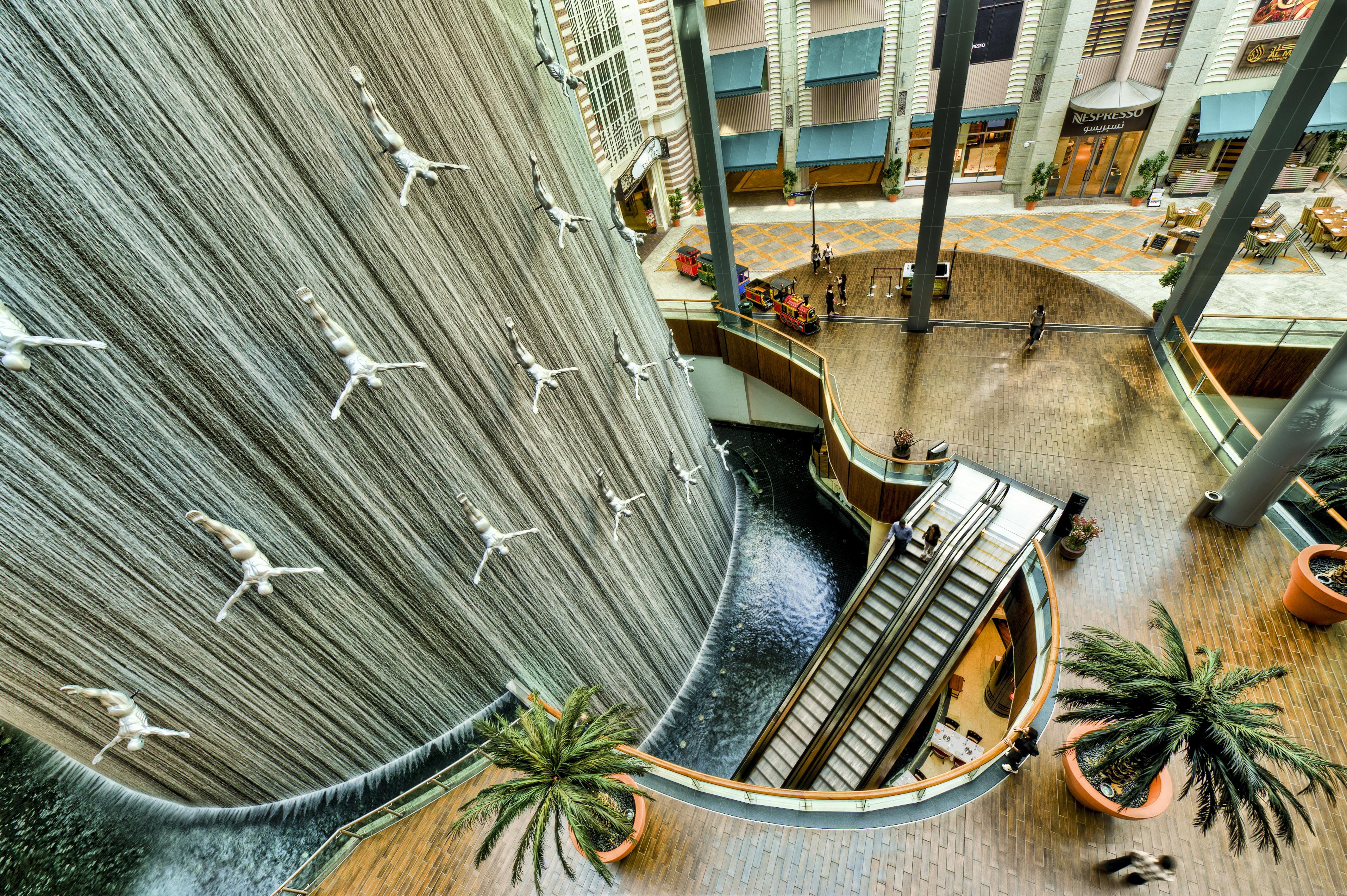 Dubai Mall - Waterfall