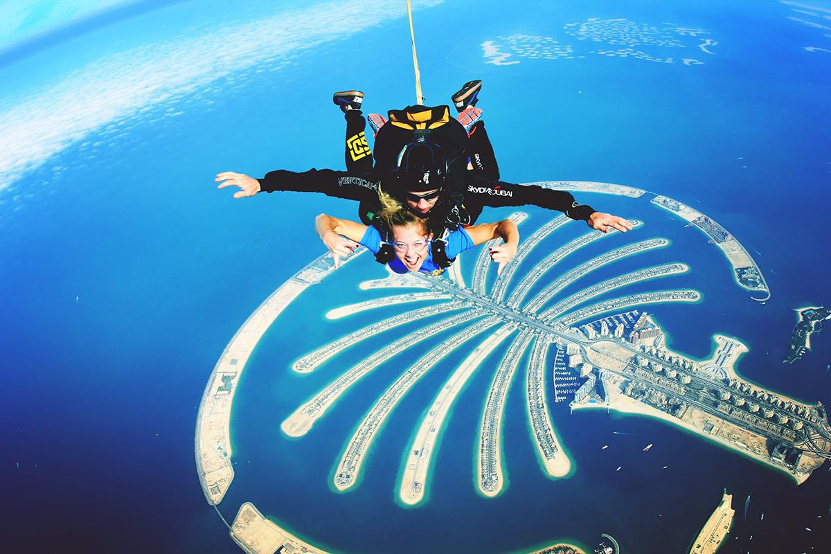 Sky Dive - Dubai, UAE
